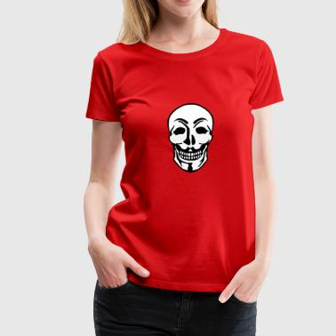 Anonymous and skull pirate symbol - Women's Premium T-Shirt
