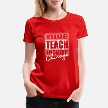 Pays Chicago Teachers Strike - Women's Premium T-Shirt