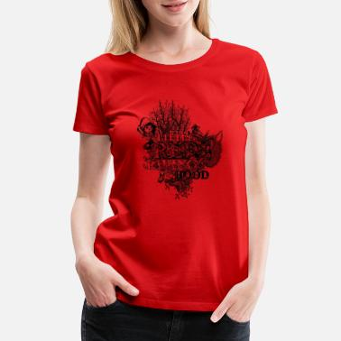 Little Red Riding Hood Little red riding hood - Women's Premium T-Shirt