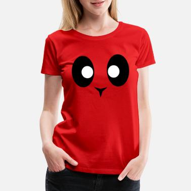 Dope Panda Simple Panda Design - Women's Premium T-Shirt