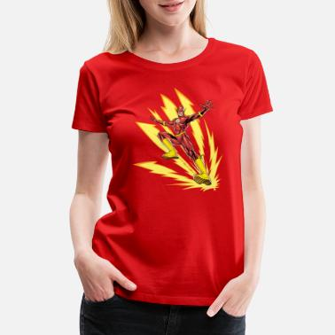 Justice League The Flash - Women's Premium T-Shirt