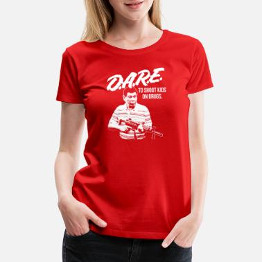 Drug Prevention DARE DUTERTE - Women's Premium T-Shirt