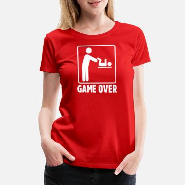 Parent Game Over Game Over Parents - Women's Premium T-Shirt