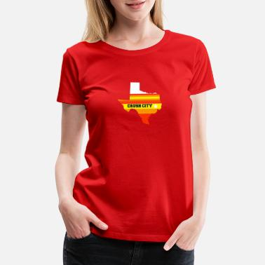 The Bigger It CRUSH CITY - Women's Premium T-Shirt