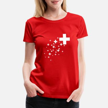 Swiss Cross Swiss Cross - Women's Premium T-Shirt