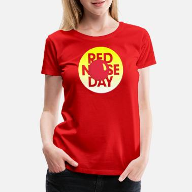 Nose Red Nose Day - Women's Premium T-Shirt