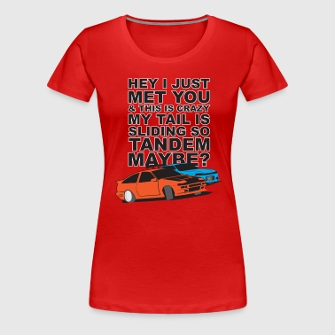 Tandem Maybe - Women's Premium T-Shirt