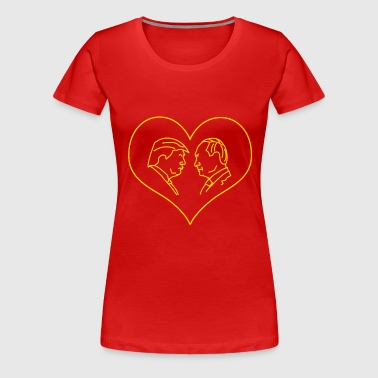 Trump Hearts Putin - Women's Premium T-Shirt