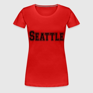 Seattle - Women's Premium T-Shirt