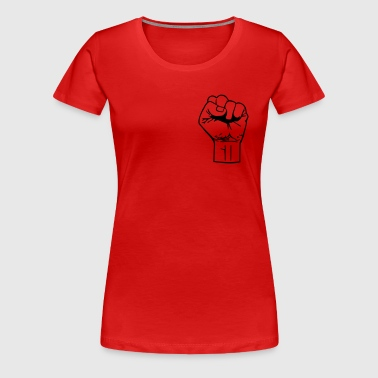 fist - Women's Premium T-Shirt
