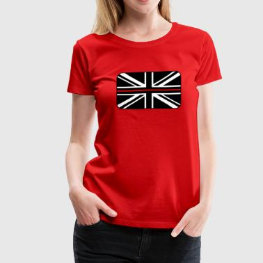 Thin Red Line UK Flag - Women's Premium T-Shirt