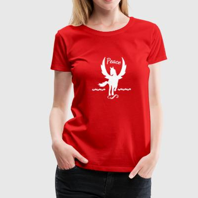 Peace Winged Horse Pegasus - Women's Premium T-Shirt