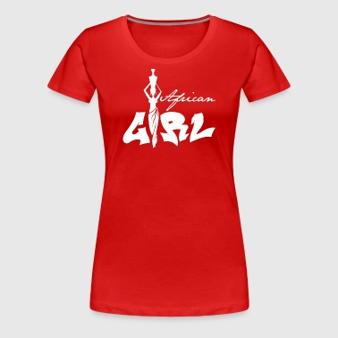 African Girl - Women's Premium T-Shirt