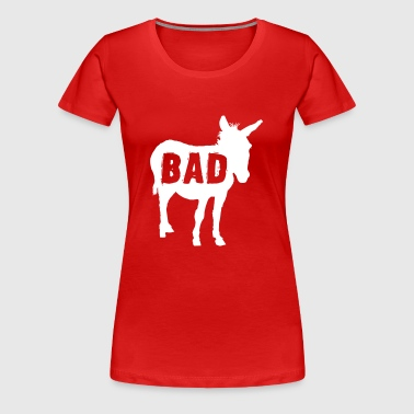 Bad Ass Donkey - Women's Premium T-Shirt