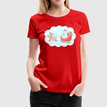 Unicorn Xmas 2017 Shirt High Quality - Women's Premium T-Shirt