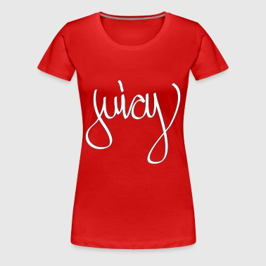 juicy 2 tone - Women's Premium T-Shirt