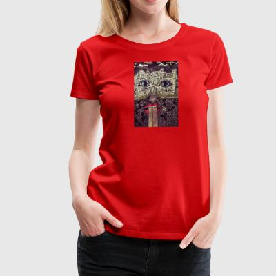 LuckyPen Art - Women's Premium T-Shirt