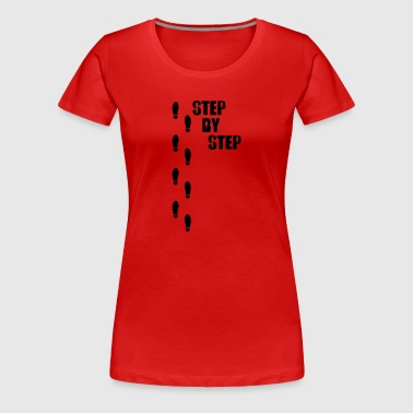 Step by step - Women's Premium T-Shirt
