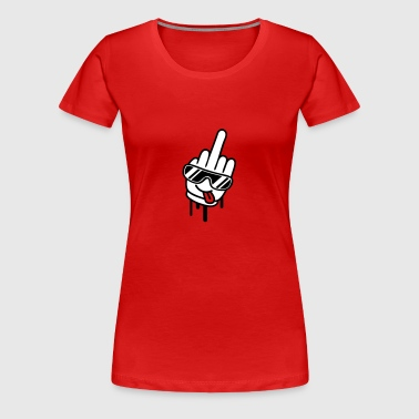 Cool Fuck Off Hand - Women's Premium T-Shirt