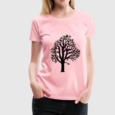 Chestnut Tree - Women's Premium T-Shirt