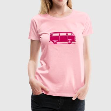 T2 - Drive by Bus (+ your Text) - Women's Premium T-Shirt