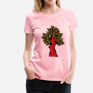 Colourful Tree Tree colour - Women's Premium T-Shirt