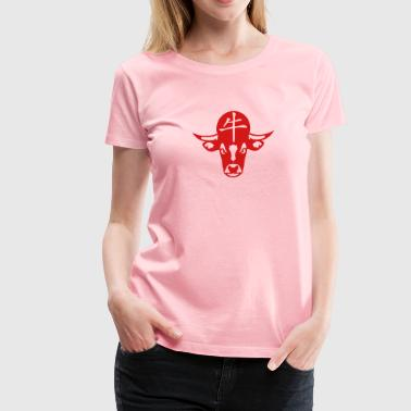 beef chinese astrological sign - Women's Premium T-Shirt
