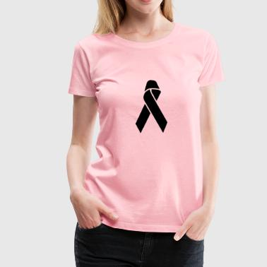 Aids Ribbon - Women's Premium T-Shirt