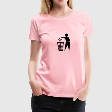 Trash fascism - Women's Premium T-Shirt