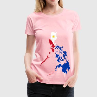 Philippines Map Flag - Women's Premium T-Shirt