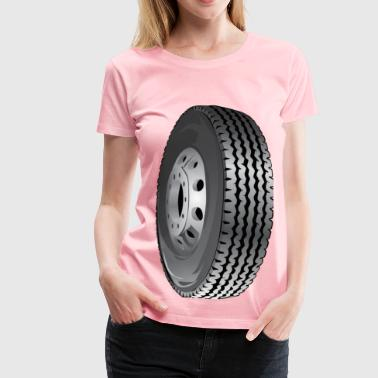 Car Tire - Women's Premium T-Shirt