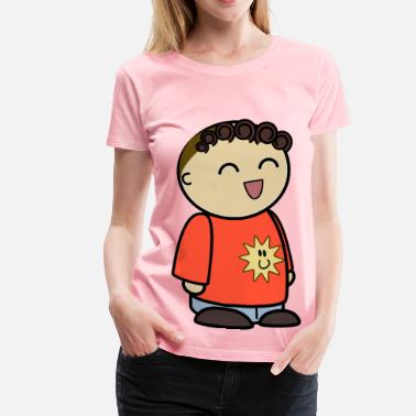 806d6e33ccc1 mix and match character jordan laughing side - Women  39 s Premium T-.  Women s Premium T-Shirt
