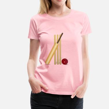Cricket Game Cricket - Women's Premium T-Shirt