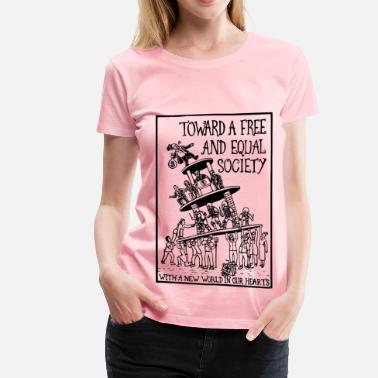 Greve toward socialism - Women's Premium T-Shirt