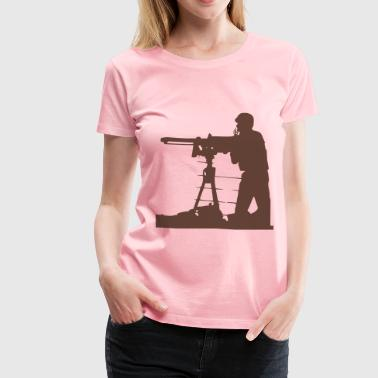 Guard On Duty At Night - Women's Premium T-Shirt