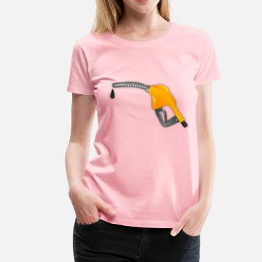 Pompe Gas Pump Nozzle - Women's Premium T-Shirt
