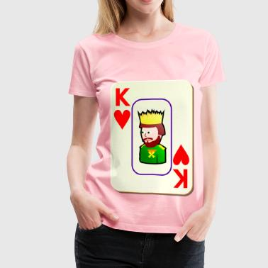 card - Women's Premium T-Shirt