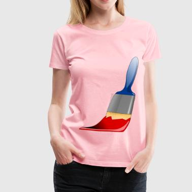 Paint Brush - Women's Premium T-Shirt