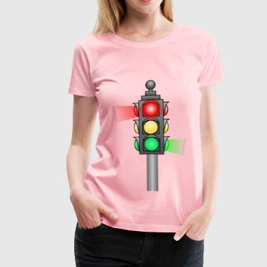 Traffic Light - Women's Premium T-Shirt