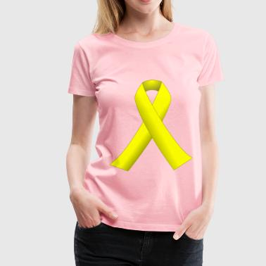 Yellow ribbon - Women's Premium T-Shirt