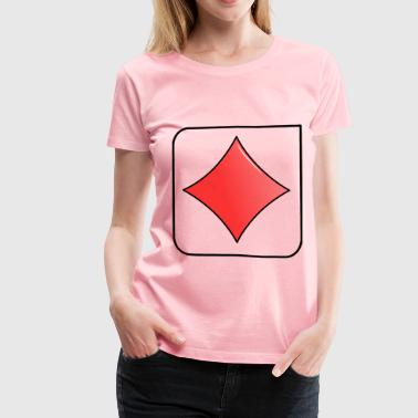 Cards - Women's Premium T-Shirt