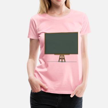 Chalk Chalk board - Women's Premium T-Shirt