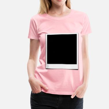 Polaroid Picture polaroid photo frame - Women's Premium T-Shirt