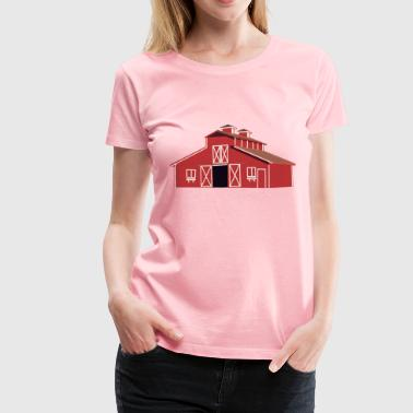 Red barn - Women's Premium T-Shirt