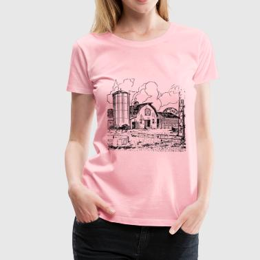 Farm Barn - Women's Premium T-Shirt