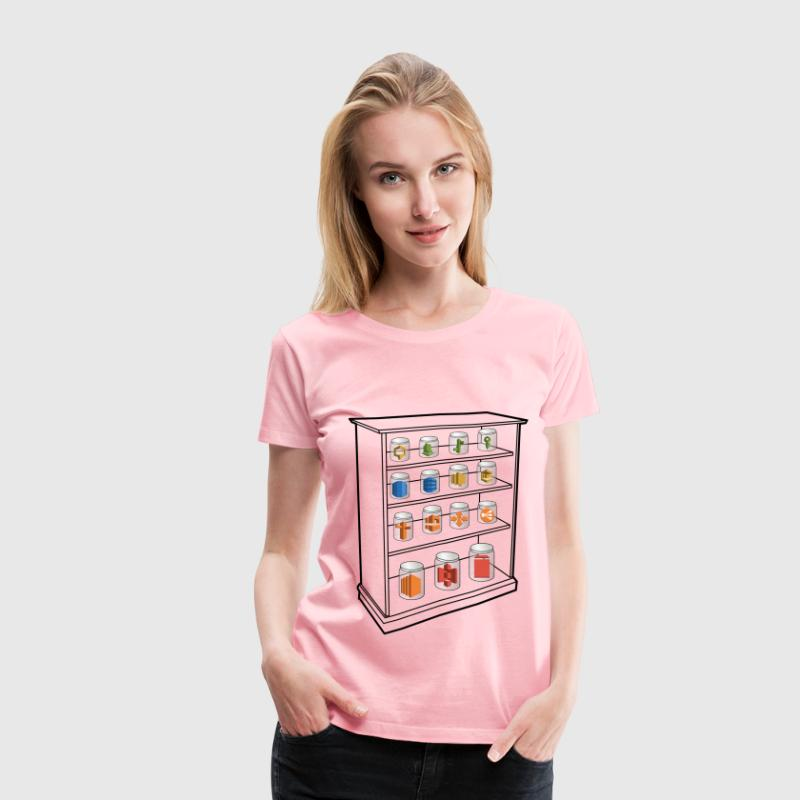 AWS Services Shelf - Women's Premium T-Shirt