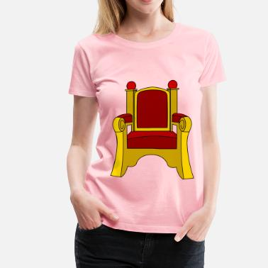 Thrones Throne - Women's Premium T-Shirt