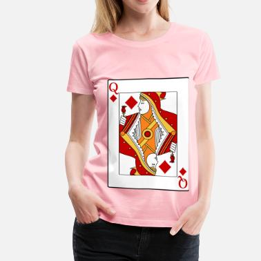 Queen Diamonds Queen of Diamonds - Women's Premium T-Shirt