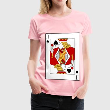 Jack of Spades - Women's Premium T-Shirt