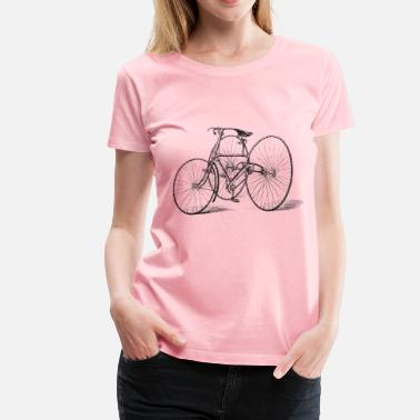 Tricycle Antique Tricycle - Women's Premium T-Shirt